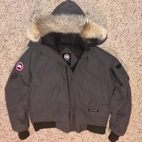 online here official store order online Men's Canada Goose Chilliwack (Grey/Large)